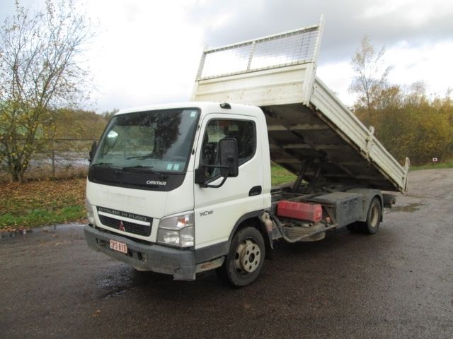Used Mitsubishi CANTER 4X2 tipper (LHD), 7238