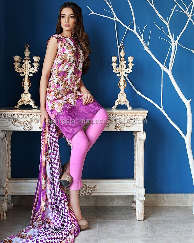 Designer Pakistani Lawn Embroidery Suits