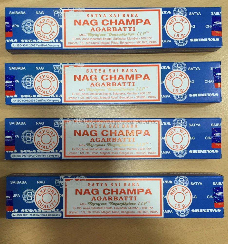 BEST PRICE NAG CHAMBA INCENSE STICK FROM INDIA