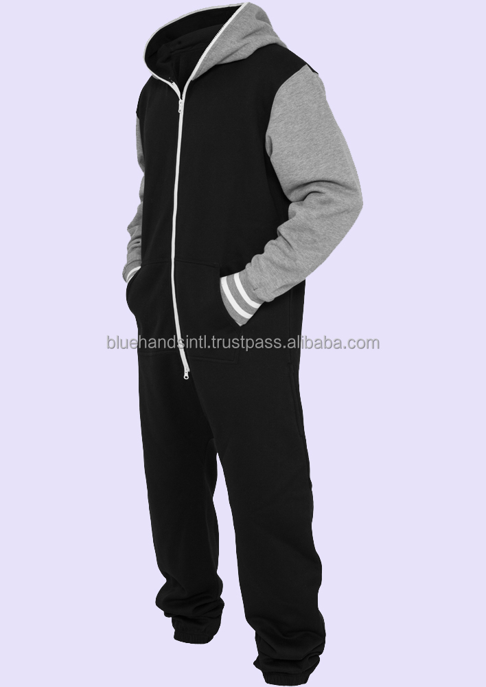 Sweat Jumpsuit & Jogging Suit black gray
