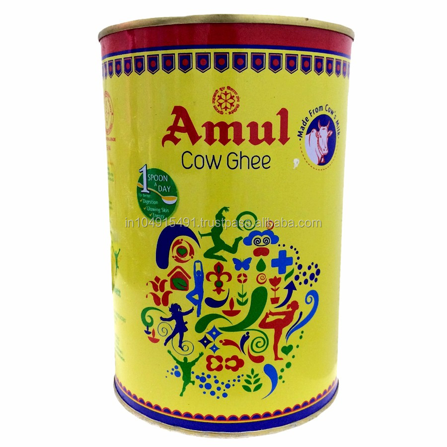 Cow Ghee : Clarified Butter : Amul/Britannia/Patanjali : Indian Ghee
