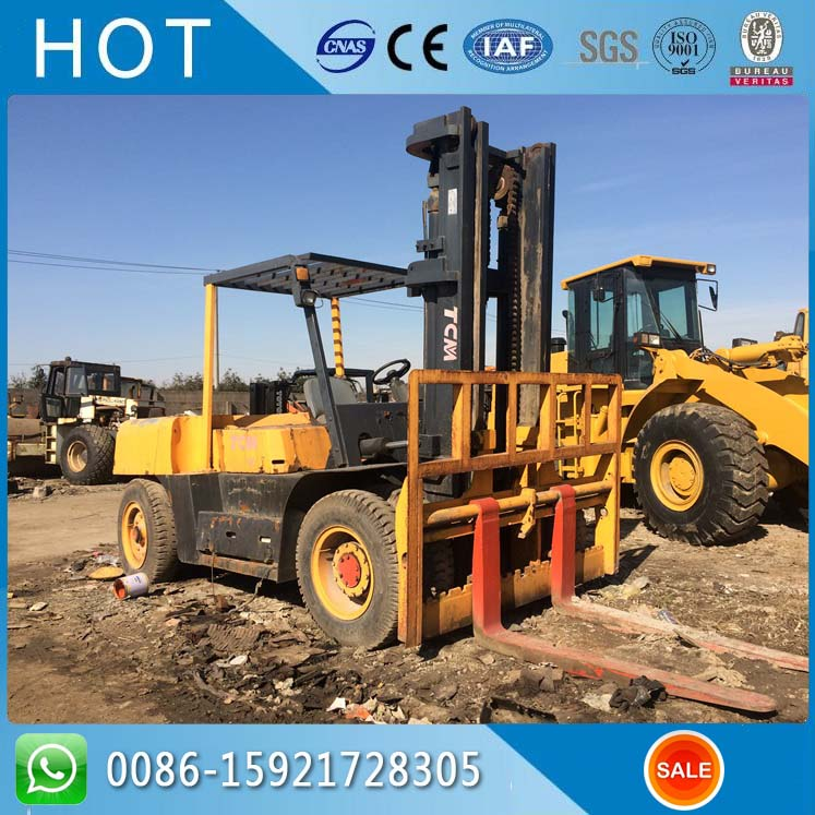 4.5 Meter High FD100Z 10 Ton TCM Used Forklift Price in Malaysia