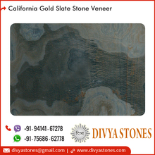 Lightweight and Flexible California Gold Slate Stone Veneer Price