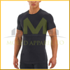 Stretchable skin tight mens short sleeve t shirt