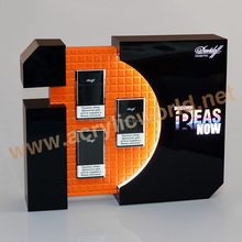 Acrylic magnet floating cigarette display/ acrylic cigarette display stand