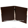 10CLE 3 Ring Binder 8-1/2 x 11 - 2inch to 3inch Capacity Mission or Menu Leatherette