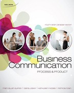 Test bank for Business Communication Process & Product 4th Canadian Edition