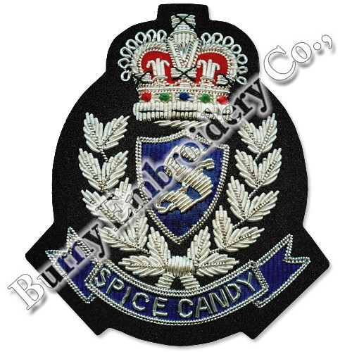 Bullion Wire Blazer Insignia Hands Embroidery Badges