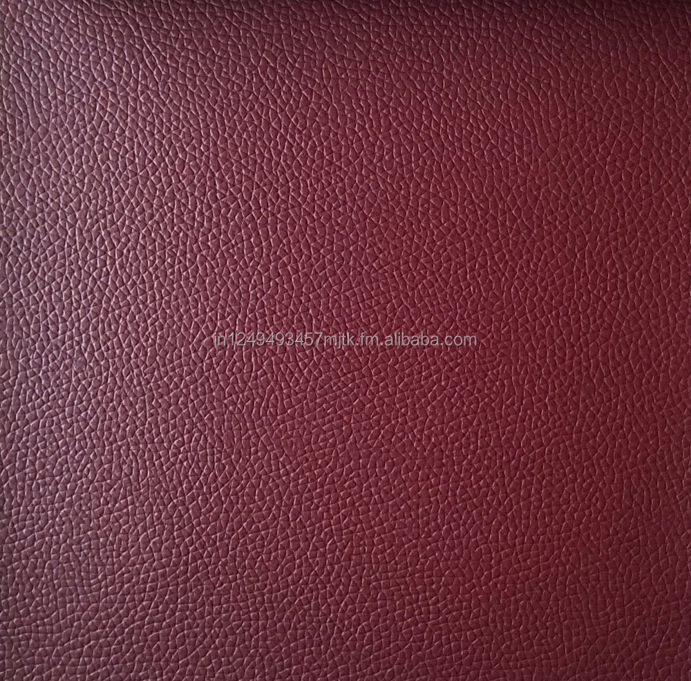 Synthetic PVC leather