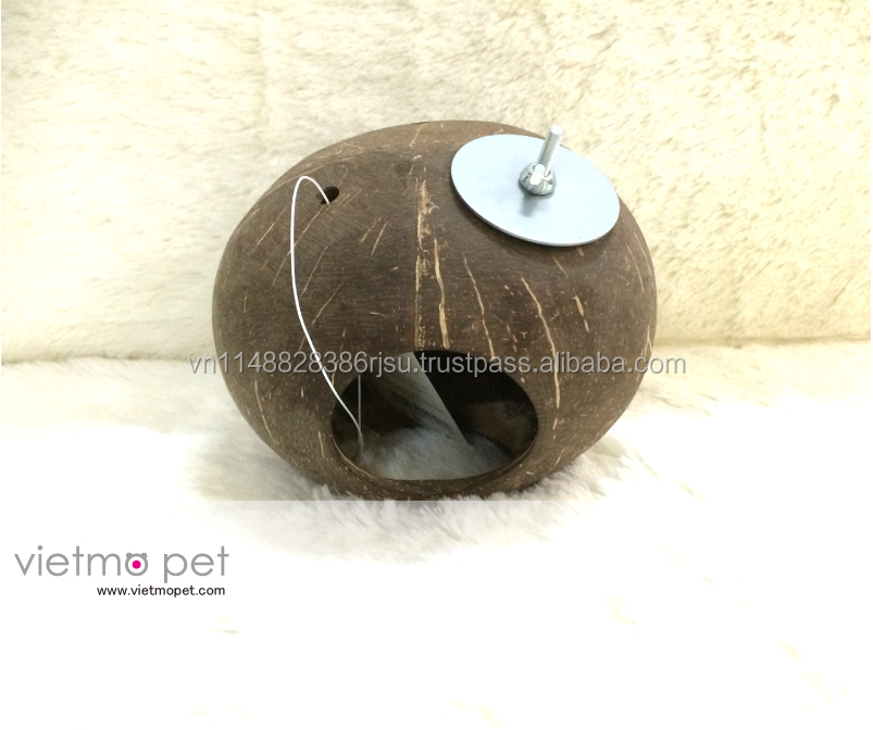 Small Pet litter house /New Design Coconut house for hamster