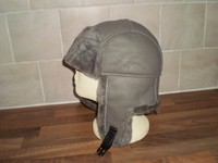 Real Sheepskin Trapper Ushanka Hat Cap