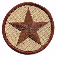 Machine Embroidery Badge/ Custom Embroidered Badge/ Wholesale Embroidered Patch