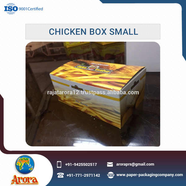 High Quality Excellent Finish Chicken Box Supply by Well Known Exporter