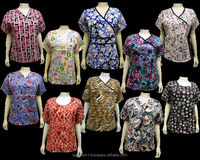 Medical Printed Tops Scrubs Uniforms USA