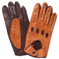 Cowhide driving gloves