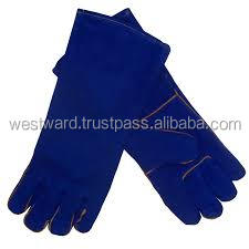 Aluminize leather welding safety gloves