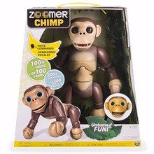 Buy New Zoomer Interactive Chimp with Voice Command Movement and Sensors by Spin Master New