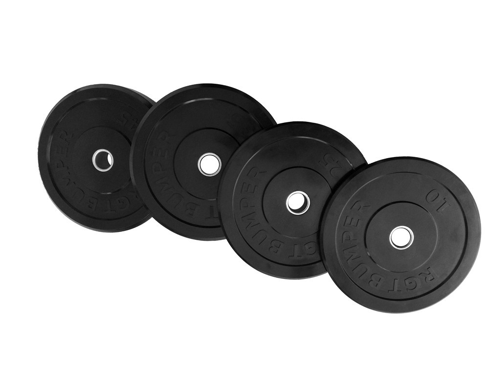 Free Shipping Weight Lifting Bodybuilding Training 16KG/35LB Rubber Plate