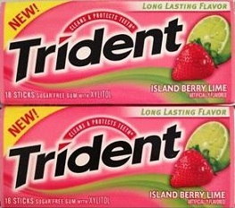 All Brands Of Chewing Gums.Tridents/ Airwaves Different Flavors