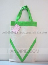 Hot selling Organic natural cotton tote bags wholesale