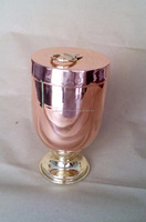 BEST MANUFACTURER OF COPPER STEEL ICE CREAM BOWL FROM INDIA COPPER ICE CREAM BOWL WITH LID FROM INDIA