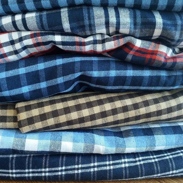 flannel shirt fabric 150 cm 120 gsm