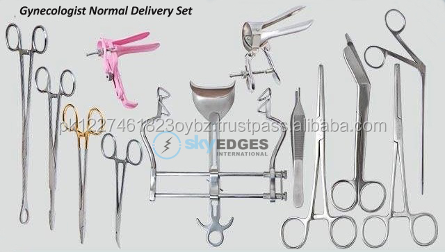 Gynecologist Baby Delivery Set Instruments Equipments Products OEM Factory Manufacturing