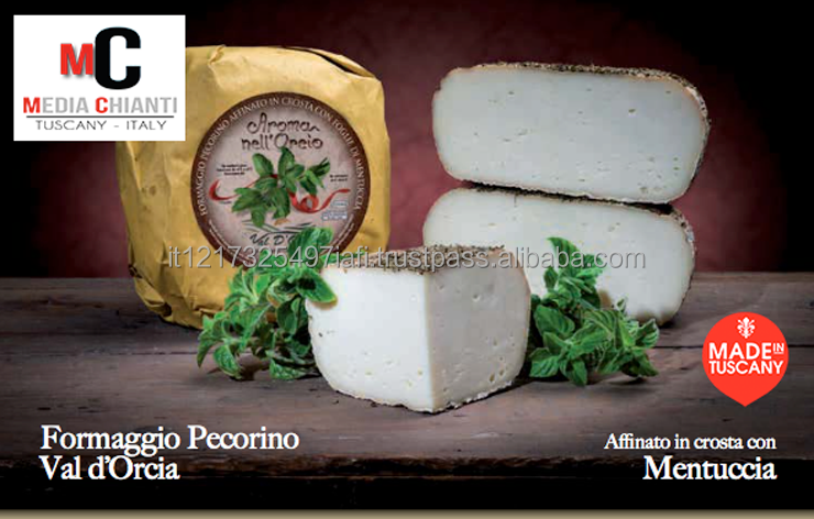 PECORINO TOSCANO - Pecorino cheese matured in FIELD BALM, 100% Italian sheep's milk