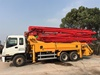 GOOD QUALITY JAPAN PUTZMEISTER USED CONCRETE PUMP ISUZU 37M