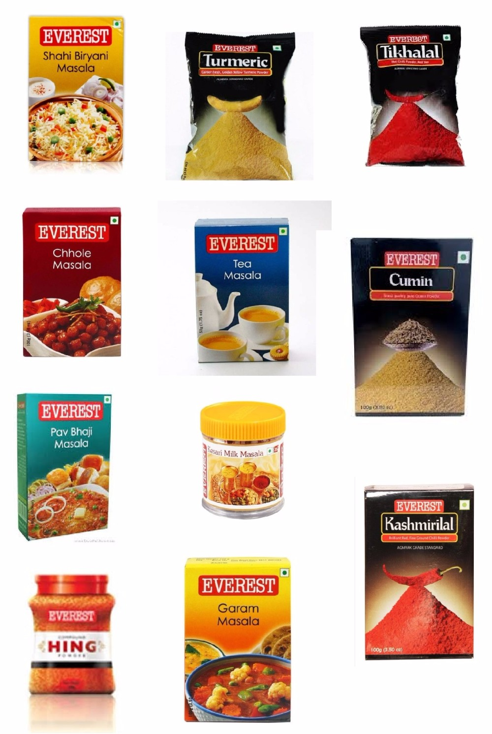 Everest Masala : Blended Spices : Ground Spices : 100 GM (3.5oz) : Indian Spices