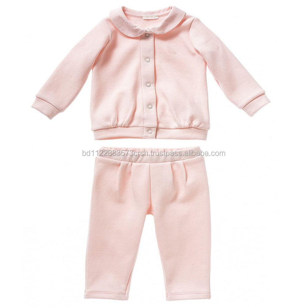 100% Ctn, Fleece, one Side Brush, 180 Gsm, Unisex Baby Set