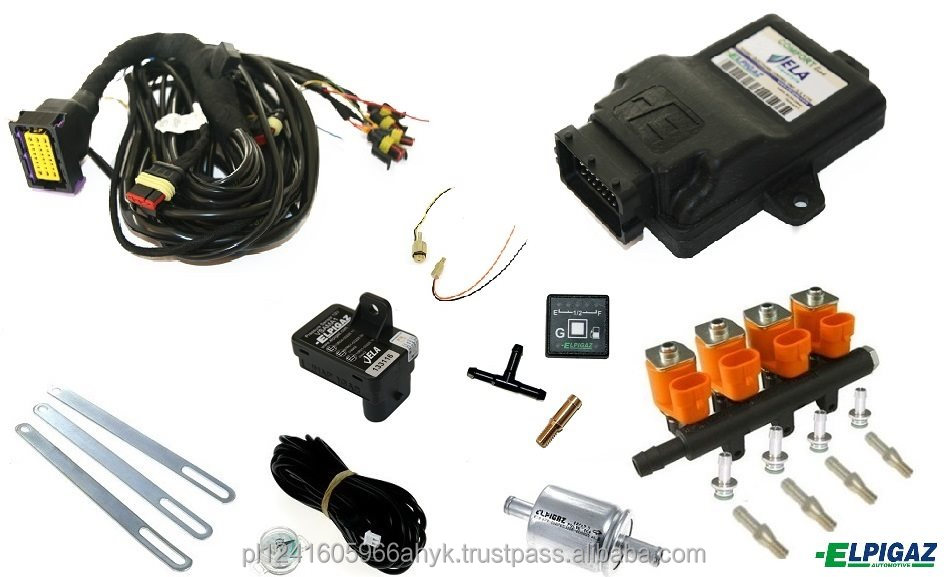 Vela Freestyle LPG sequential conversion kit for cars with ARANCIO injectors with Drago LPG reducer for cars up to 160 hp