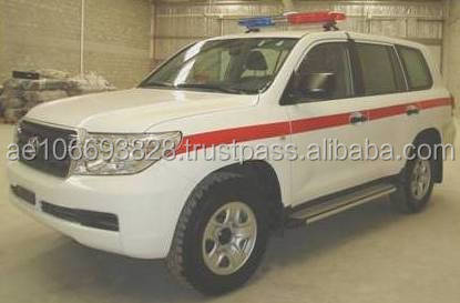 NEW CONDITION AMBULANCE IN TOYOTA LAND CRUISER G9 2013