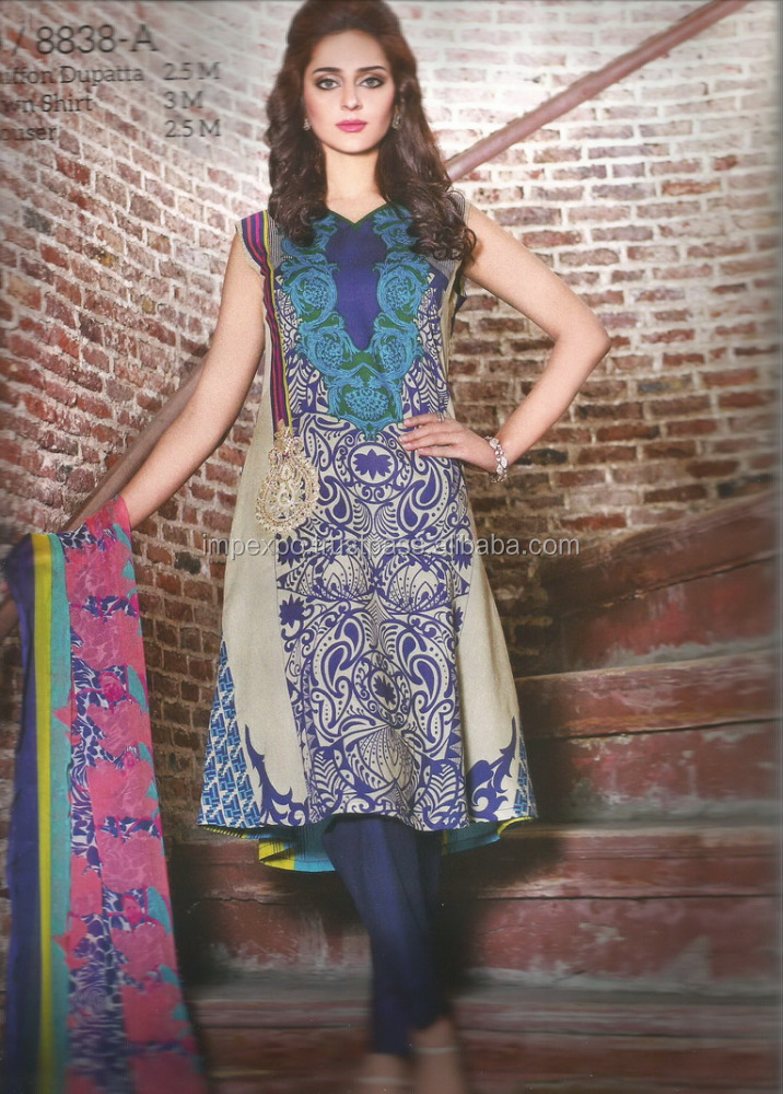 Frock suits for women / Frock salwar suit / Pakistan lawn suit price