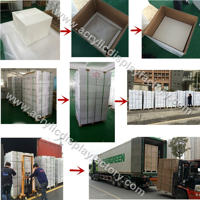 factory Hot sale Acrylic Aerosol Box for Protection