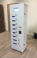 Electronic lockers for Cell Phone Charging