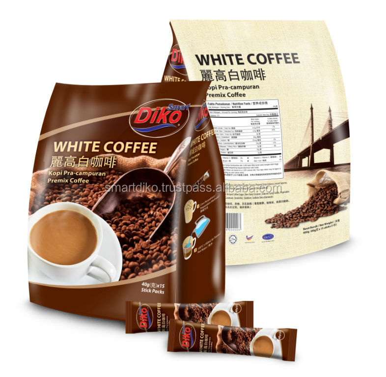 Made in Malaysia instant coffee 3 in 1 600gm per pack