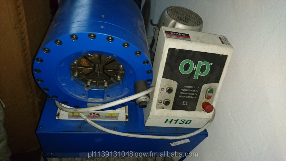 HYDRAULIC HOSES CRIMPING MACHINE O+P H130EL