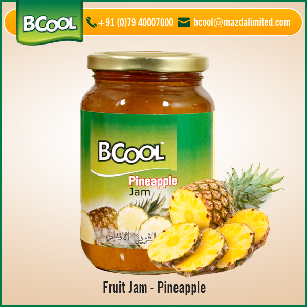 Export Quality Pineapple Fruit Jam for Sale