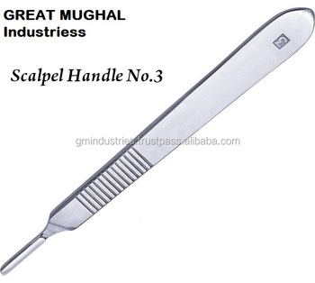Scalpal Handle No. 3 Surgical Instruments GMI20008