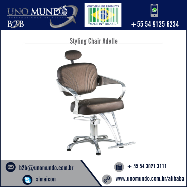 Light Weighted Barber Chair Offered in Varied Beautiful Designs