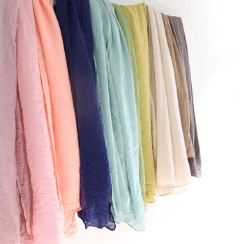 Fine Cotton scarves