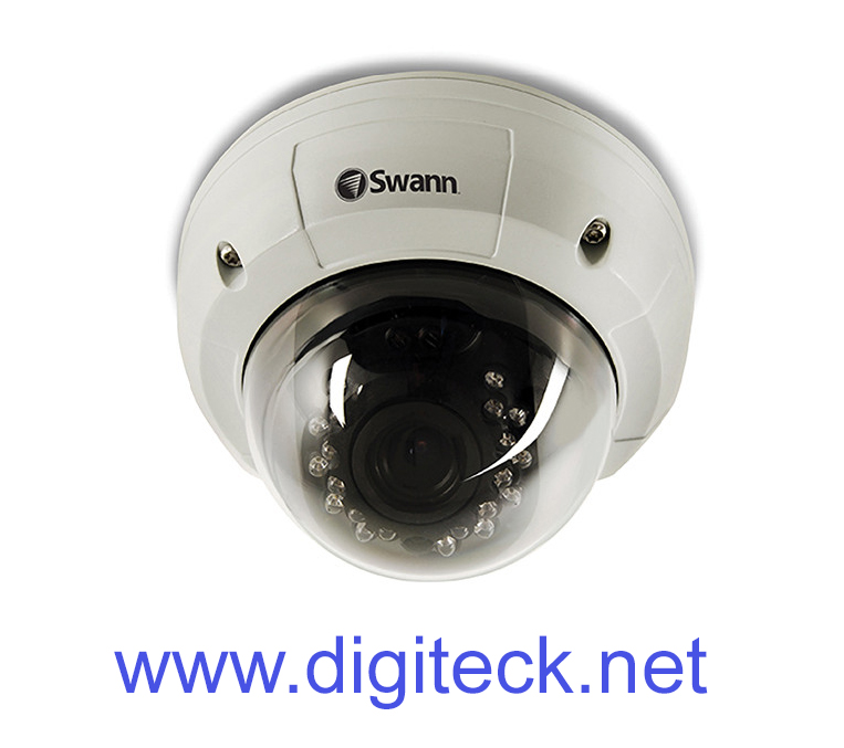 SWN14 - SWANN CCTV PRO-781 ULTIMATE OPTICAL ZOOM DOME CAMERA 700TVL 30M NIGHT VISION VARI-FOCAL 4MM ~ 9MM LENS IP67