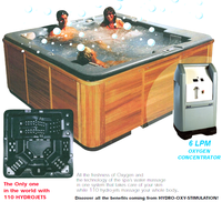 CE certificate Bath tub prices Outdoor spa oxygen integrated Bathtubs & Whirlpools