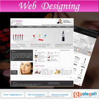 Alibaba Website Design & Development for Cosmetics & Beauty Products with SEO Optimisation