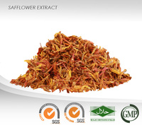 Safflower Powder Extract : Kinobeon A, Carthamin : Traditional Medicine, Lower blood lipid
