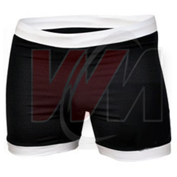 White & Jet Black Field Hockey Skirts Shorts