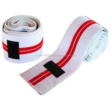 Custom Design Hight Quality Elastic Weightlifting Knee Wrap