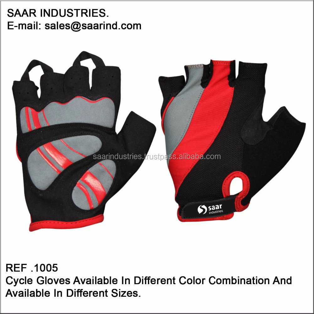 CYCLING GLOVES PADDED FINGERLESS MOUNTAIN BIKE BICYCLE/CYCLE M/L/XL