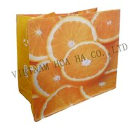 Vietnam custom made shopping plastic bag, plastic shopping bag
